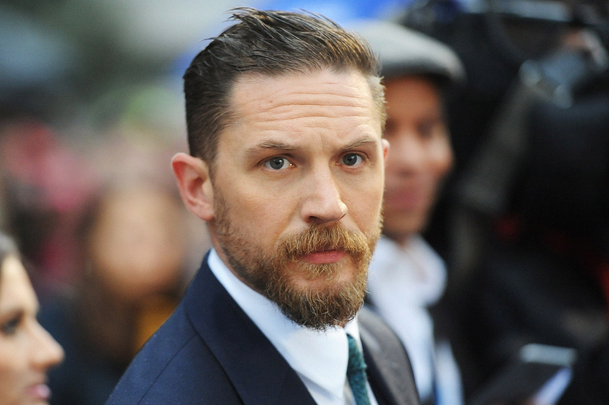 Tom hardy with beard